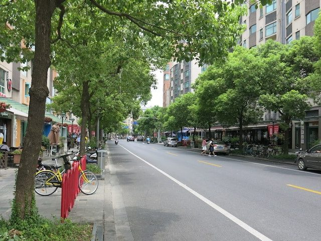 Da Xue Lu near Fudan University in Shanghai